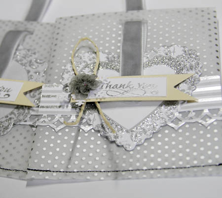 Sliver Party Bags/ Winter Wedding Favor Bags - Ruby Rock-It Bella ...