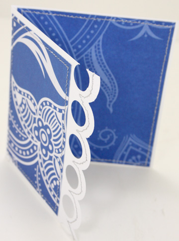 Blue Scallop card 2
