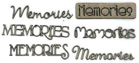 Memories-Words