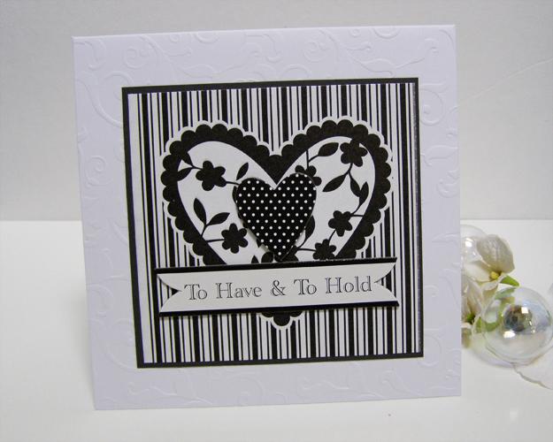 Wedding card sized